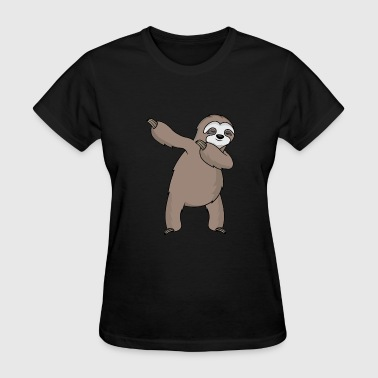 Sloshed dabbing sloth dab slosh sleeping sloth gift - Women's T-Shirt