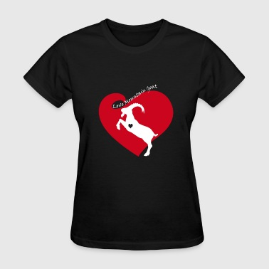 Love Mountains Apparel Love Mountain Goat Shirt - Women's T-Shirt