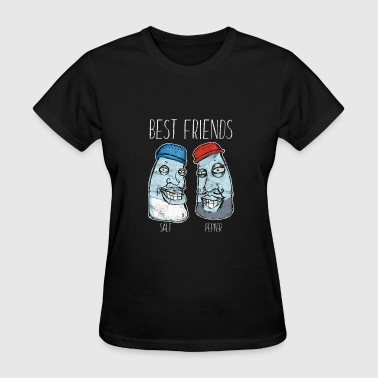 Best Friends - Salt and Pepper - Women's T-Shirt