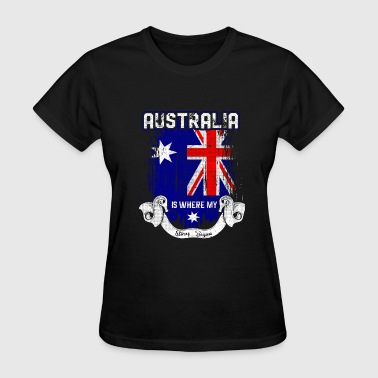 Patriotism Country Shirt- Australia - Women's T-Shirt