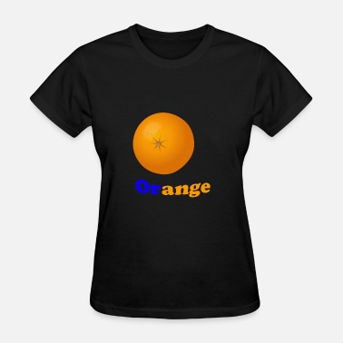 Orange People Blue Orange - Women's T-Shirt