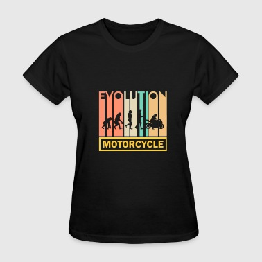Biker Evolution Chopper Motorcycle Shirt - Chopper - Biker - Evolution - Women's T-Shirt
