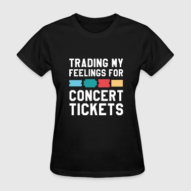 Feelings Concert Tickets - Women's T-Shirt