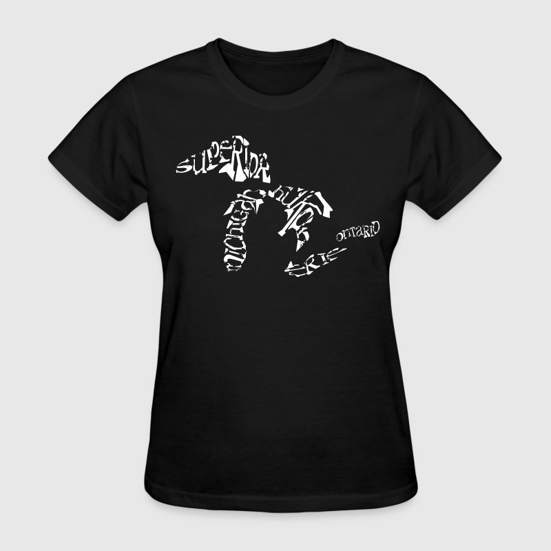 Great Lakes Words Design - Women's T-Shirt
