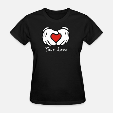 L Amour Mickey et L amour - Women's T-Shirt