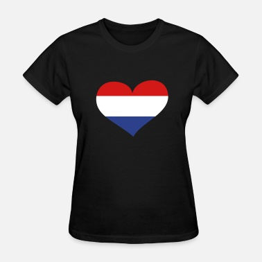 Netherlands Netherlands Heart; Love Netherlands - Women's T-Shirt