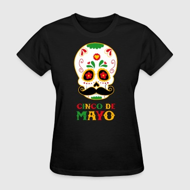 Cinco De Mayo Skull - Women's T-Shirt