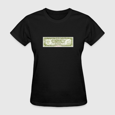 Cuban Cigar Afficianado Vintage Warranty Certifica - Women's T-Shirt