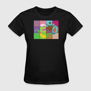 Abstract Om Abstract OM - Women's T-Shirt