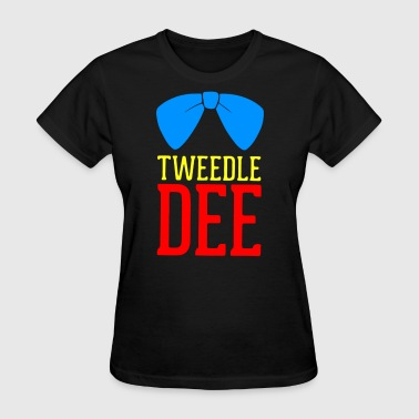 Tweedle Dee Tweedle Dum - Women's T-Shirt