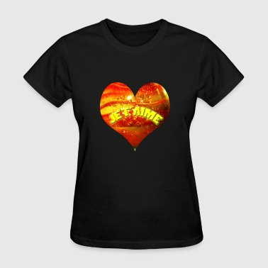bubble heart - Women's T-Shirt