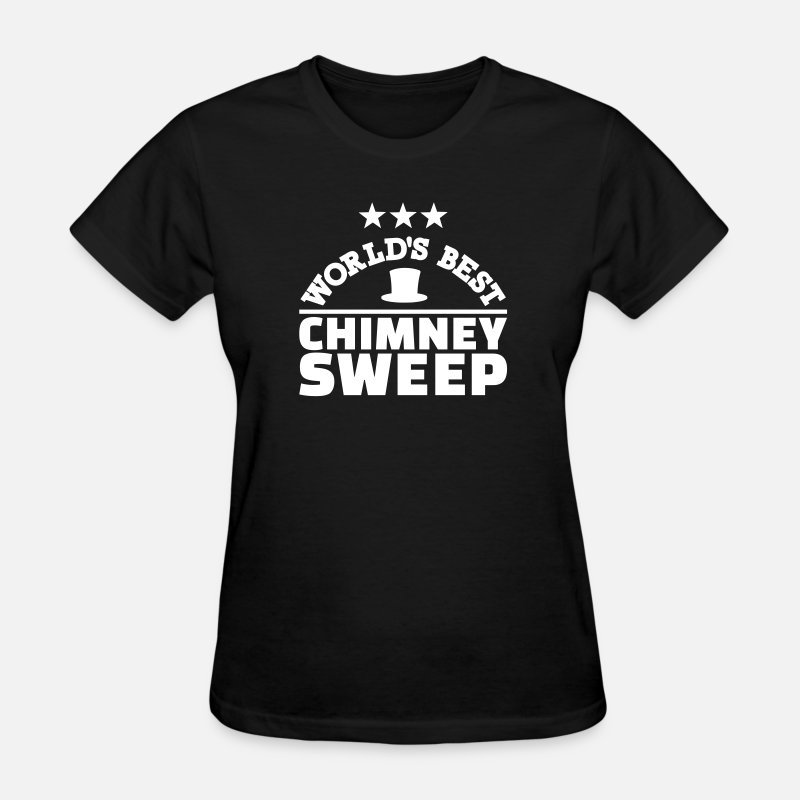 Chimney Sweep T-Shirts - Chimney sweep - Women's T-Shirt black