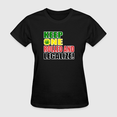 KEEPONEROLLED.png - Women's T-Shirt