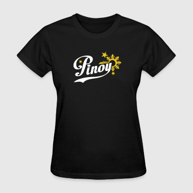 Pinoy Philippines star & sun - Women's T-Shirt