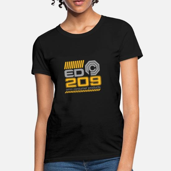 7d2974e0a Robocop T-Shirts - Robocop OCP ED 209 Enforcement Droid - Women's T-Shirt