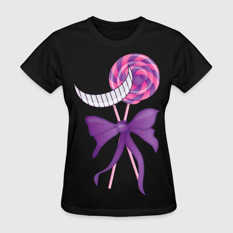 Cheshire Cat Lollipop - Women's T-Shirt