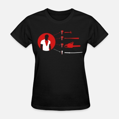 Bare Hands Weapon of Choice - Women's T-Shirt