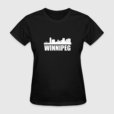 Winnipeg Skyline - Women's T-Shirt