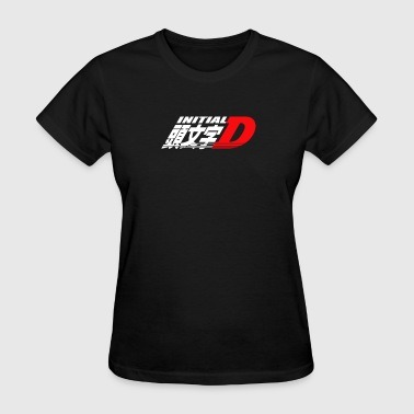 Logo Initial D Anime Manga Drift Race Jdm - Women's T-Shirt