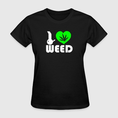 I Love Weed Fun - Women's T-Shirt