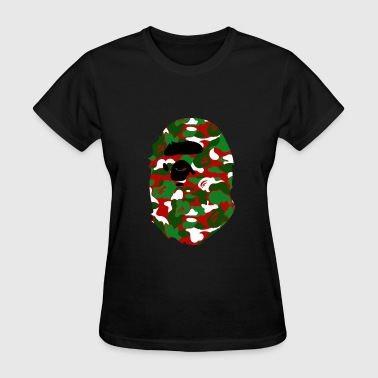 A Bathing Ape Camo Big Ape Head 2016 - Women's T-Shirt