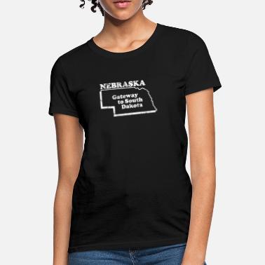 ba68159d8 Nebraska NEBRASKA STATE SLOGAN - Women's T-Shirt
