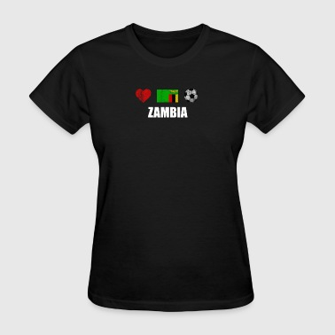 Zambia Football Shirt - Zambia Soccer Jersey - Women's T-Shirt
