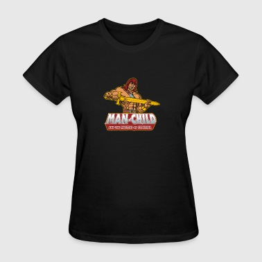 Man Child - Women's T-Shirt