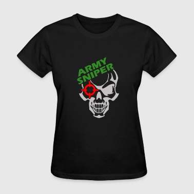 Army Sniper Funny Army Sniper T Shirt - Women's T-Shirt