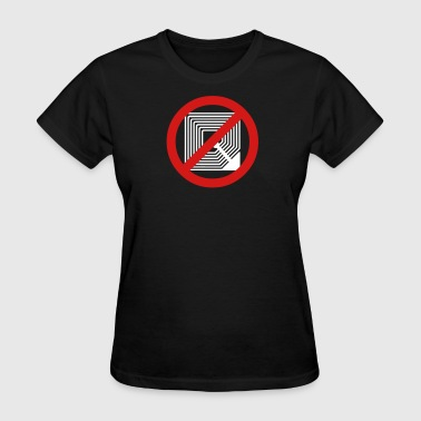 Automatic Stop RFID 2b - Women's T-Shirt