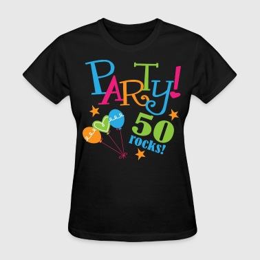 50th Birthday Party 50 years - Women's T-Shirt