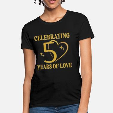 dd4b268d76 Wedding Anniversary 50th Wedding Anniversary Golden - Women's T-Shirt