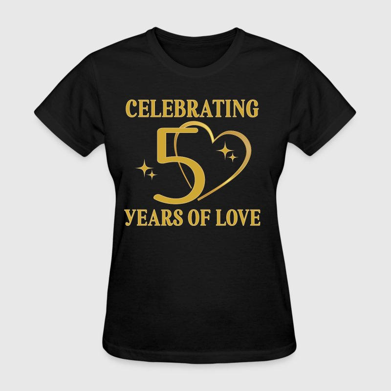 50th Wedding Anniversary Golden - Women's T-Shirt