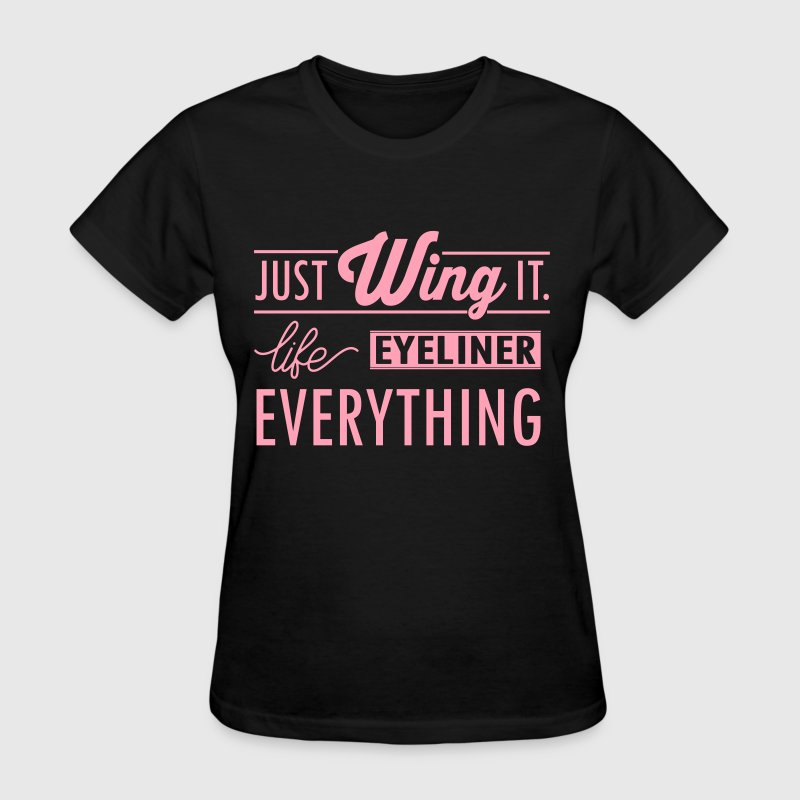just wing it - Women's T-Shirt