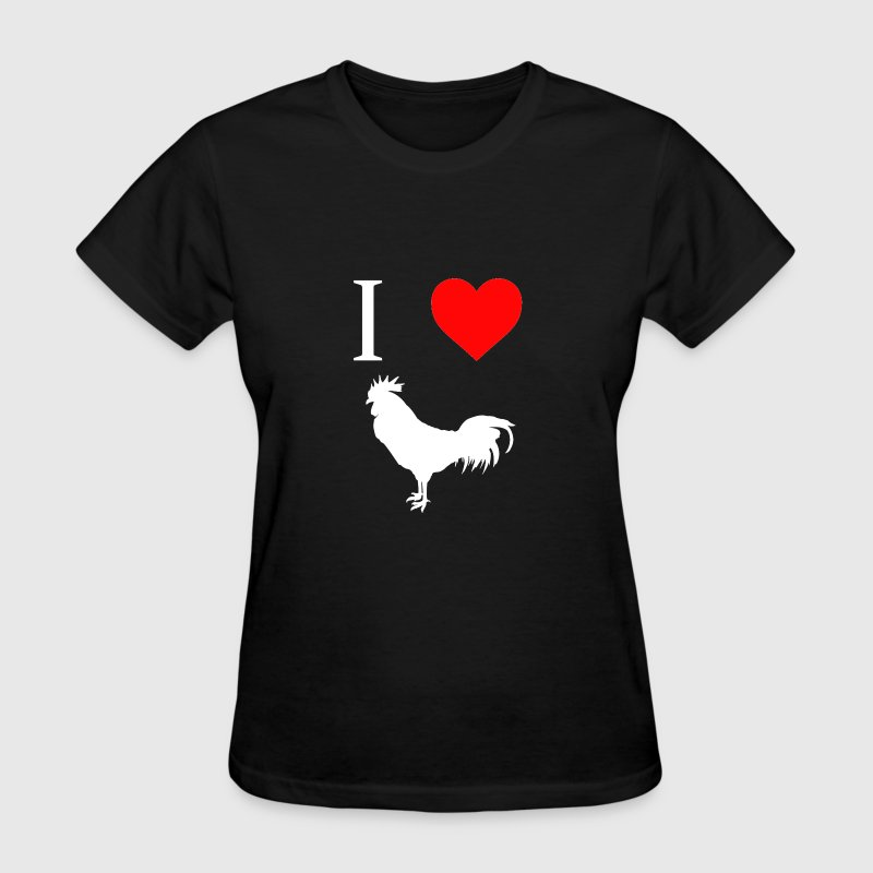I Heart Cock - Women's T-Shirt