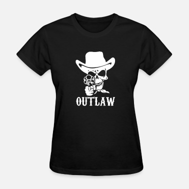 Outlaw Outlaw Cow-Boy Motor Bike - Women's T-Shirt