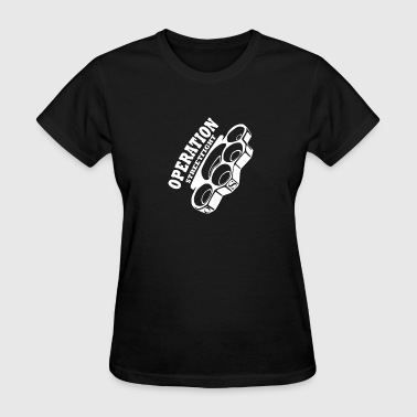 Streetfight operation streetfight  Hools Hooligan Boxen Fight - Women's T-Shirt