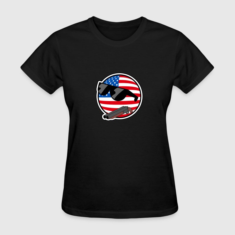 America - AmericaBall - Women's T-Shirt