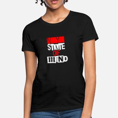 Ny State Ny State Of Mind - Women's T-Shirt