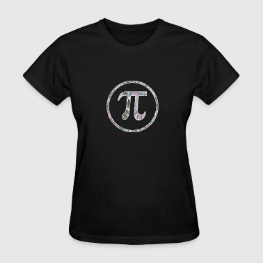 Pi Symbol in Sage Blush - Women's T-Shirt