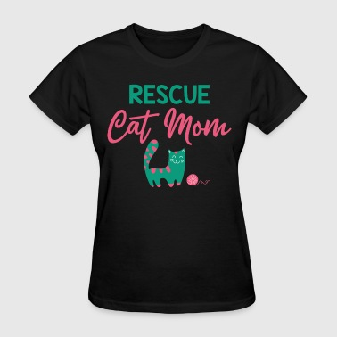 Rescue Cat Mom - Women's T-Shirt