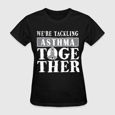 Asthma Awareness Walk Ribbon - Women's T-Shirt