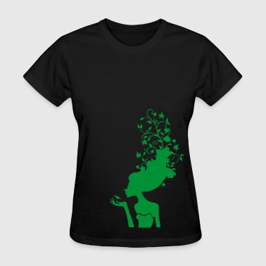Curly Sue - Women's T-Shirt
