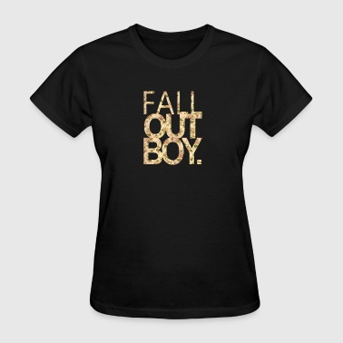 Fall Out Boy flower - Women's T-Shirt