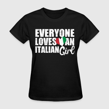 Italian Girl - Women's T-Shirt