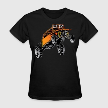 Orange Race Desert Buggy - Women's T-Shirt