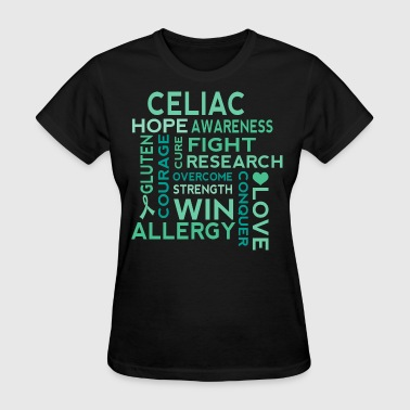 Celiac Disease Awareness slogan - Women's T-Shirt