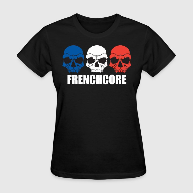 Frenchcore Skulls - Women's T-Shirt