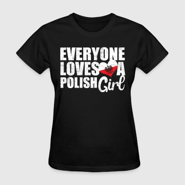 Love Polish Girls - Women's T-Shirt