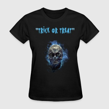Men's Day Day of the Dead - hallween day skull men and women - Women's T-Shirt